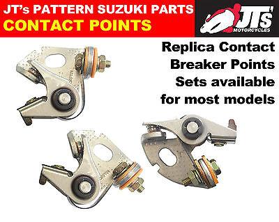 SUZUKI GT380J / GT380 J FULL SET OF 3 CONTACT / BREAKER POINTS