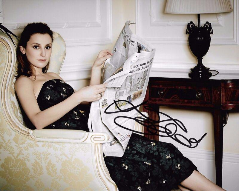 Laura Carmichael Downton Abbey Autographed Signed 8x10 Photo COA #4=1