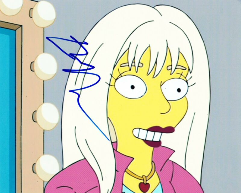 ELLEN PAGE SIGNED 8X10 PHOTO THE SIMPSONS AUTHENTIC AUTOGRAPH X-MEN JUNO COA A
