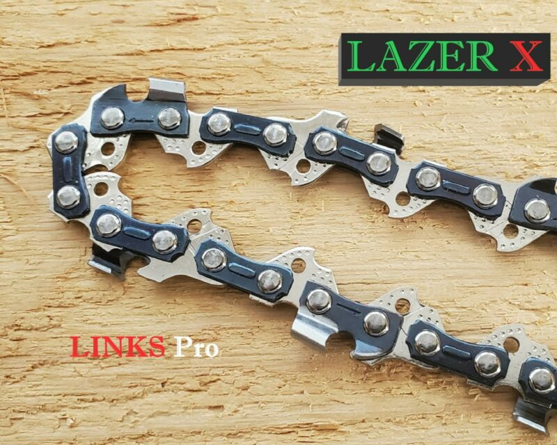 "2-PACK 14"" Chainsaw Saw Chain Blade Worx WG305 WG305.1 3/8""LP 050 Gauge 52DL S52"