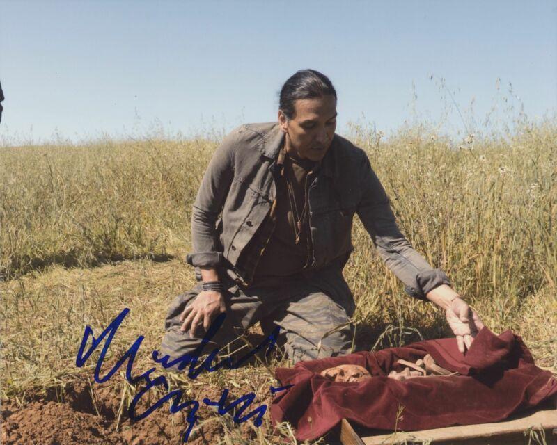 MICHAEL GREYEYES SIGNED FEAR THE WALKING DEAD 8X10 PHOTO 5