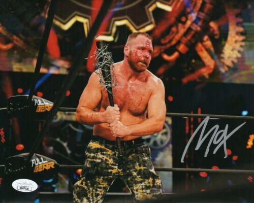Jon Moxley Autograph Signed 8x10 Photo - AEW WWE WWF (JSA COA)