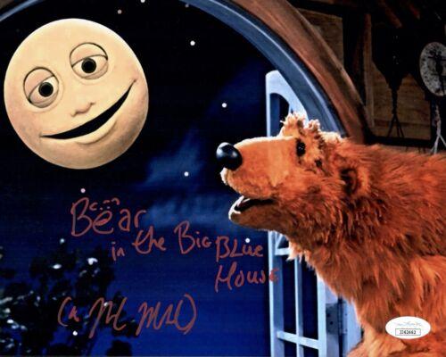 NOEL MACNEAL Signed BEAR IN THE BIG BLUE HOUSE 8x10 Photo Autograph JSA COA Cert