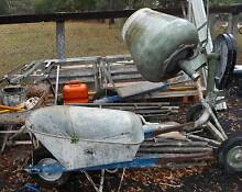 cement mixer bricklaying tools Richmond Hawkesbury Area Preview