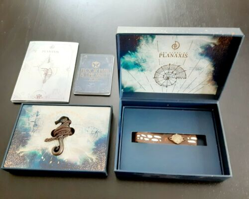 2018 Tomorrowland Planaxis Treasure Case Necklace Bracelet Floor Plan Timetable
