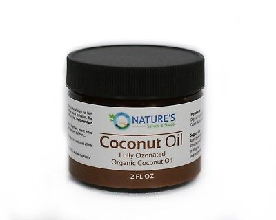 BEST Fully Ozonated 100% Organic Cold Pressed Unrefined Coconut Oil - 2