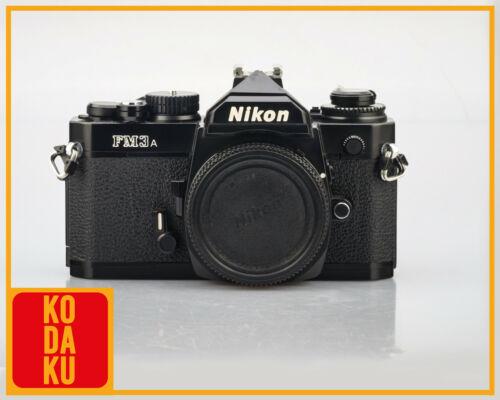 NIKON FM3A Black SLR 35mm Film Camera