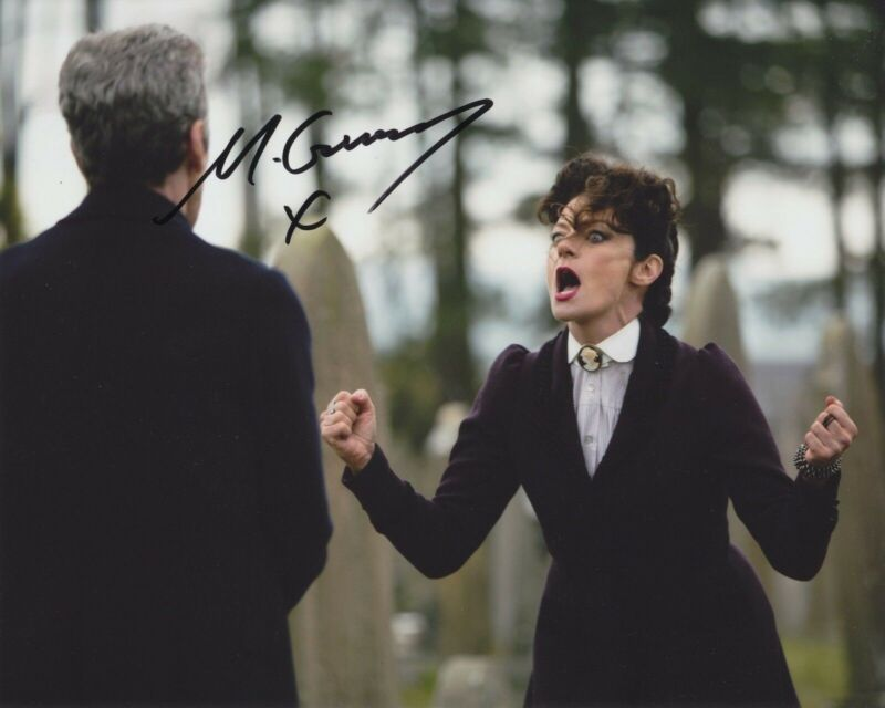 MICHELLE GOMEZ SIGNED DOCTOR WHO 8X10 PHOTO 5