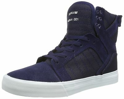 Details about Supra Men's Skytop Navy Two ToneWhite Athletic Shoe