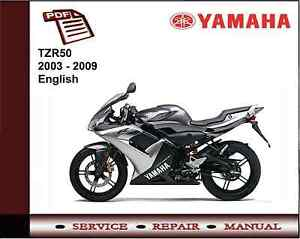 yamaha tzr50 tzr 50 2003 2009 service repair workshop. Black Bedroom Furniture Sets. Home Design Ideas
