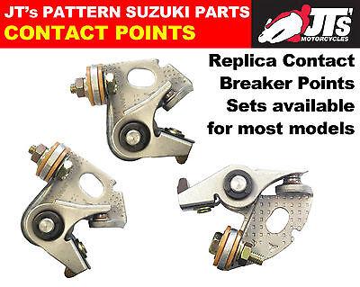SUZUKI GT750 / GT550 TRIPLES FULL SET OF CONTACT / BREAKER POINTS