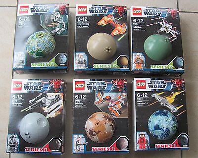6 Lego Star Wars Planeten 9674 9675 9676 9677 9678 9679 Neu & OVP Rarität Rare ! online kaufen