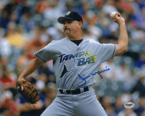 Jim Morris Autograph Signed 8x10 Photo - Tampa Bay Rays The Rookie (Zobie COA)