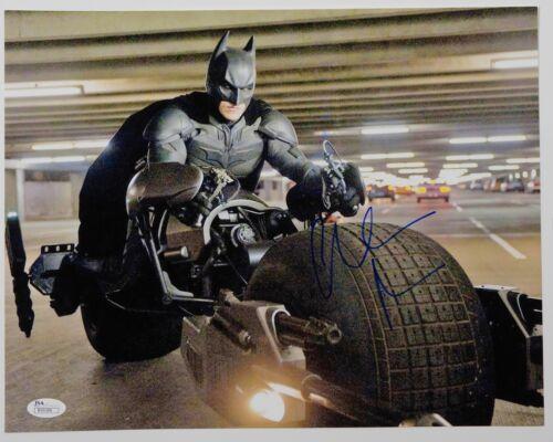 Christian Bale Batman Autograph Signed 11 x 14 JSA COA The Dark Knight