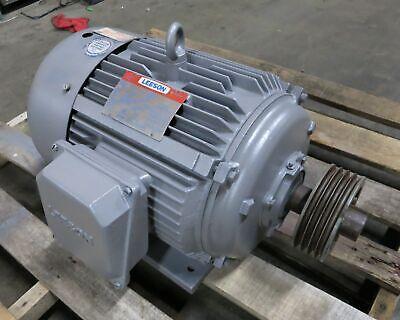Leeson 150066-60 15hp Ac Motor 208-230460v 1765 Rpm 254t Frame Tefc 15 Hp