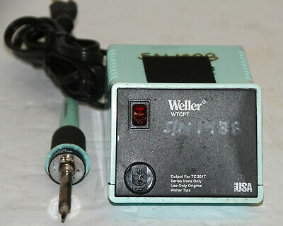 Weller Wtcpt Pu 120t Soldering Station And Iron 120v 60w