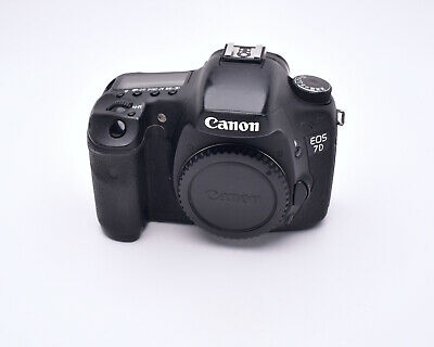 Canon EOS 7D 18 MP Digital Camera Body Only with Grip & Accessories  (#5384)