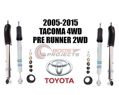 Bilstein B8 5100 Adjustable Front Shocks w/ Rear Set For 2005-2015 Toyota