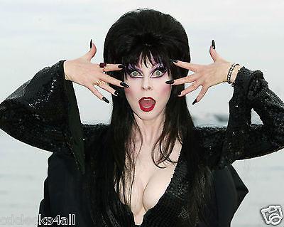 Elvira / Cassandra Peterson 8 x 10 / 8x10 GLOSSY Photo Picture IMAGE #3