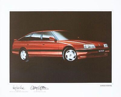 Original Rover Vitesse Art Print