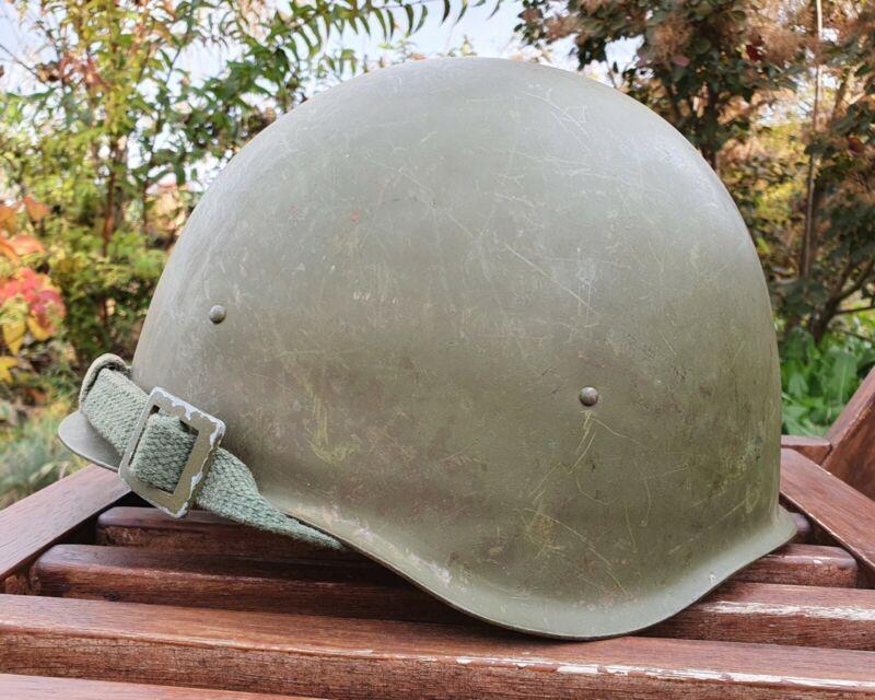Original Military Helmet SSH 40 Steel WW2  Russian Soviet Army RKKA WWII Leather