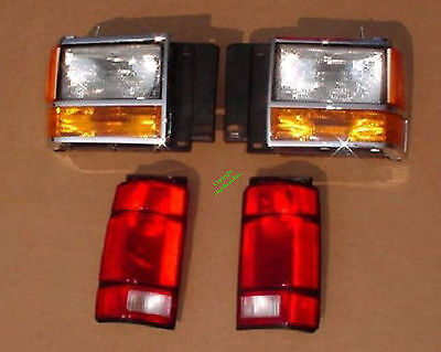 10 Piece Head & Tail Light Kit Ford Explorer 91 92 93 94 Parking Side & Doors Ford Explorer Headlight Door