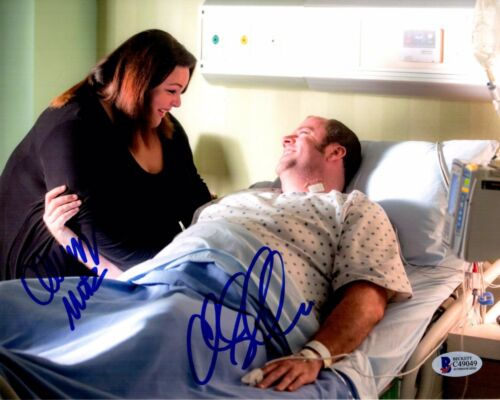CHRISSY METZ CHRIS SULLIVAN SIGNED THIS IS US 8X10 PHOTO! AUTOGRAPH PSA BAS COA
