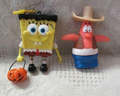 Spongebob & Patrick Figurines In Halloween Costumes (Spongebob Patrick Costumes Halloween)