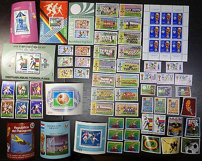 COLLECTION 1974, WORLD CUP, SOCCER, FOOTBALL, MNH 02