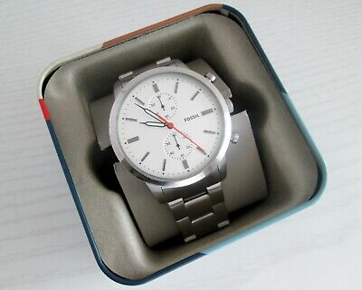 Fossil Townsman FS5346 Chronograph Quartz Men's Watch 44mm Hattori VD51C Caliber