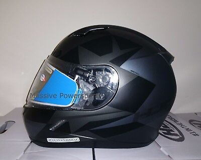 HJC CL-17 Frameless Electric Snowmobile Helmet Ragua Gray XXXXXL 5XL 5X