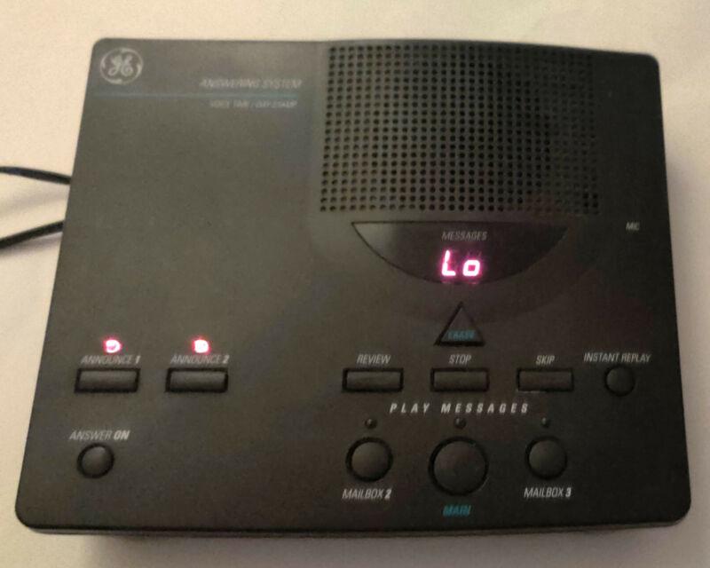 GE 2-9876B DIGITAL ANSWERING MACHINE SYSTEM w/ Power Supply