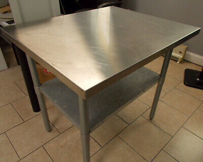 Green World 30 X 36 Stainless Steel Work Prep Table Commercial Nsf