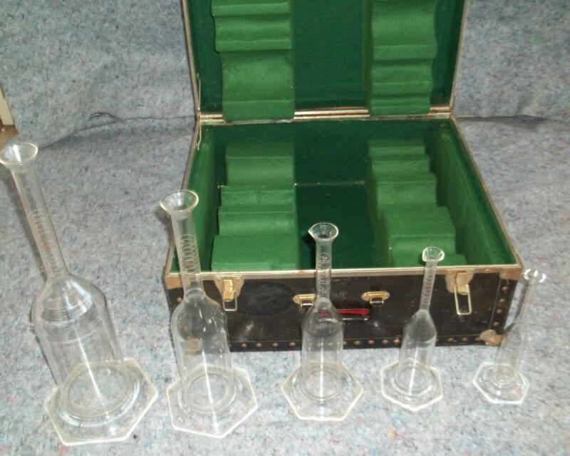 Scientific Glass Laboratory Apparatus Instruments