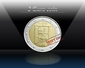 MALTA 2 EURO 2018 ( Cultural Heritage ) 2 Euro Commemorative coin * UNCIRCULATED