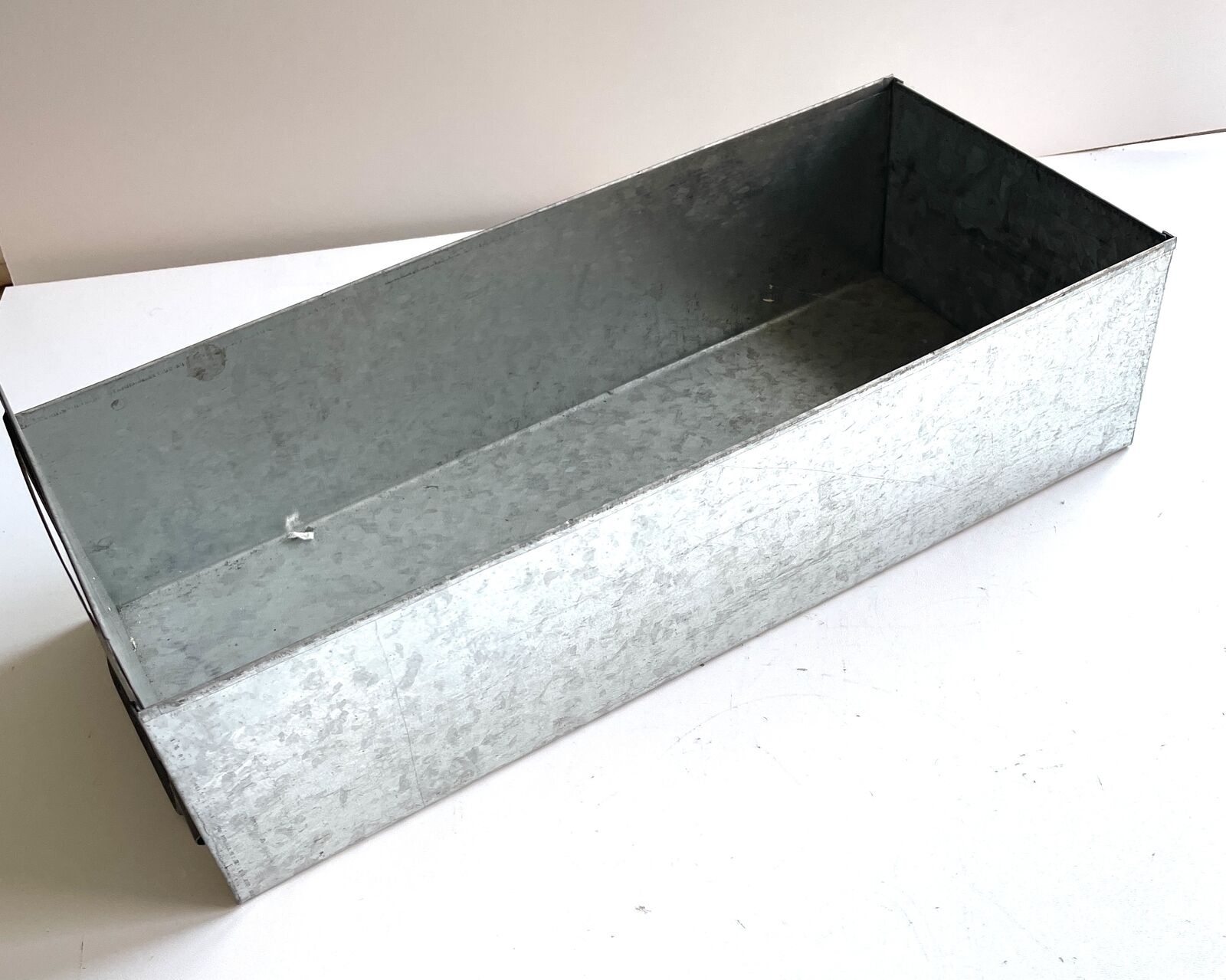 2x Bosch metal corredera recuadro caja cajón campamento lagerbox caja caja metalica