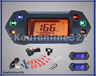 KOSO DB01R+ plusTacho Tachometer Drehzahlmesser Digitaltacho Cockpit  NEU, BA027