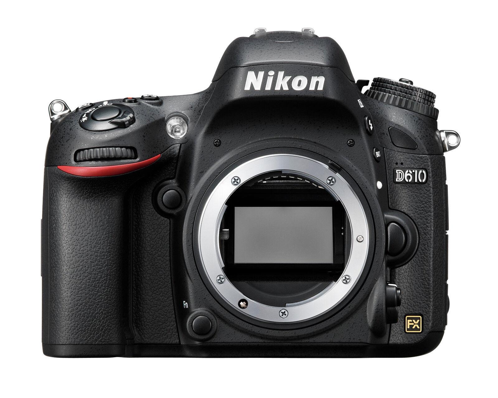 Spiegelreflexkamera Nikon D610 24.3 MP DSLR, GEHÄUSE, DEMOWARE