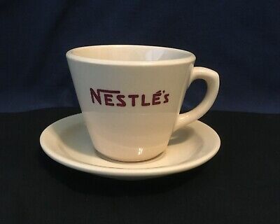 Nesltle's Vintage Inca Ware Coffee Mug and Saucer