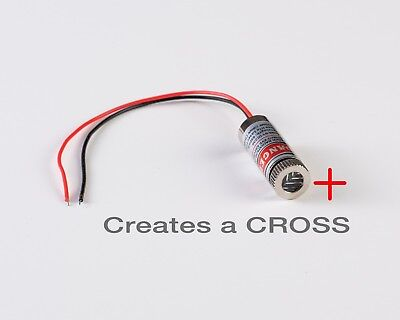 Red Laser Crosshair Pointer Focusable For Co2 Laser Cutter Engraver Or Cnc- Usa