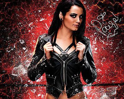 PAIGE #1 (WWE) - 10X8 PRE PRINTED LAB QUALITY PHOTO PRINT