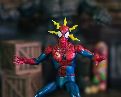 Yellow Spider Senses EFFECT ONLY Mezco, Mafex, Marvel Legends 1/12 (Marvels Kids)