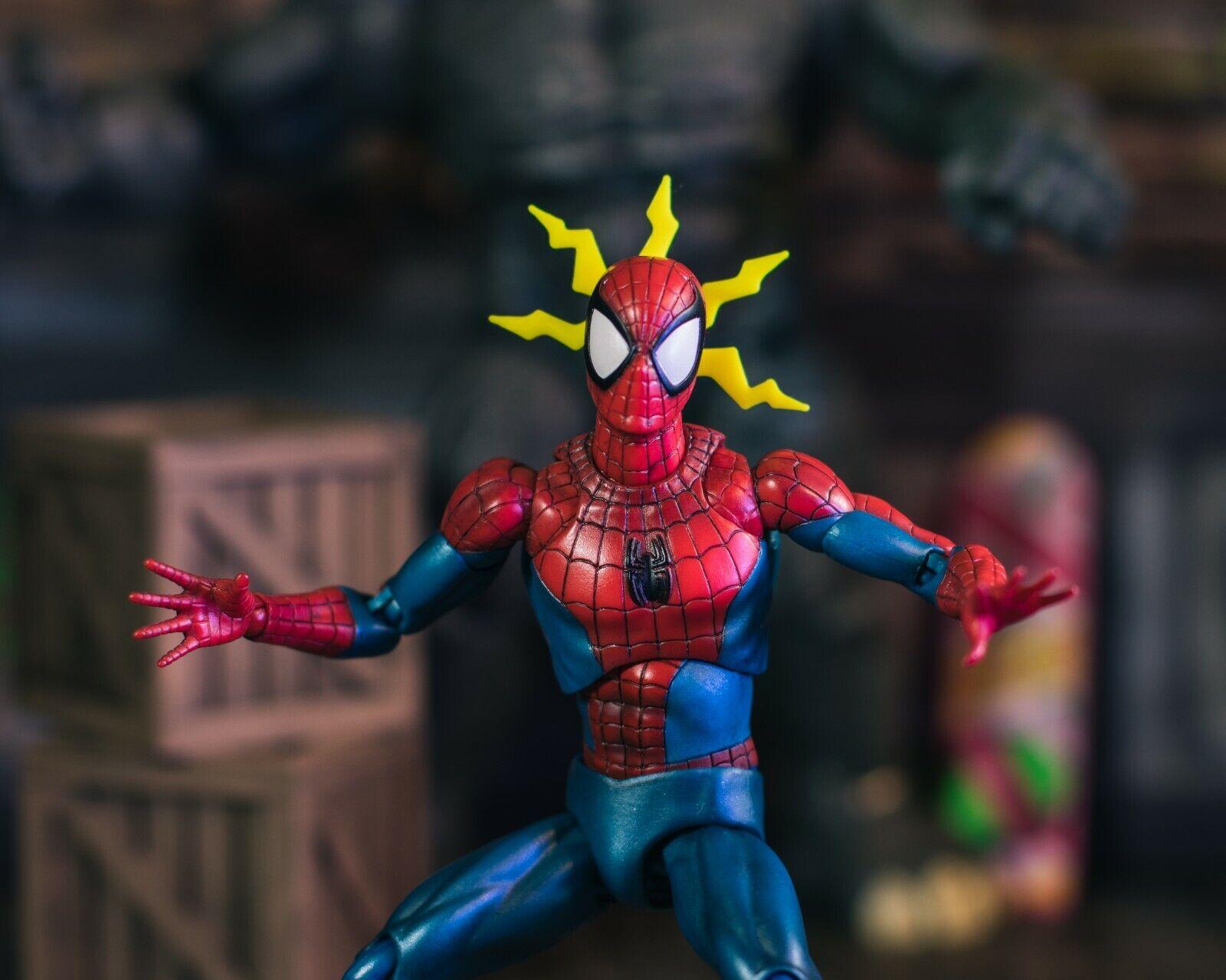 Yellow Spider Senses EFFECT ONLY Mezco, Mafex, Marvel Legend