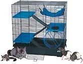 NEW-Multi-Level-Rat-Degu-Chinchilla-Exotic-Cage-LARGE