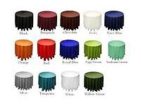 Table linen Hire,Napkins,All colors from .50p DIY and delivery