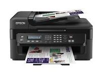 Nice Compact Printer and Rolling Laptop Desk for sale