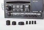 Купить 97-02 Z28 04 CORVETTE (ISUZU 98-99) RADIO TUNER KNOB SET CD PLAYER STEREO 76849