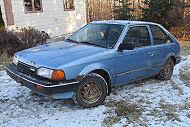 1988 Mazda 323 GLX Hatchback