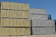 NEW 40 ft one trip sea can sea container storage