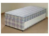 Brand New Single Storage Divan bed set in Blue Full store area FREE delivery 2 Available